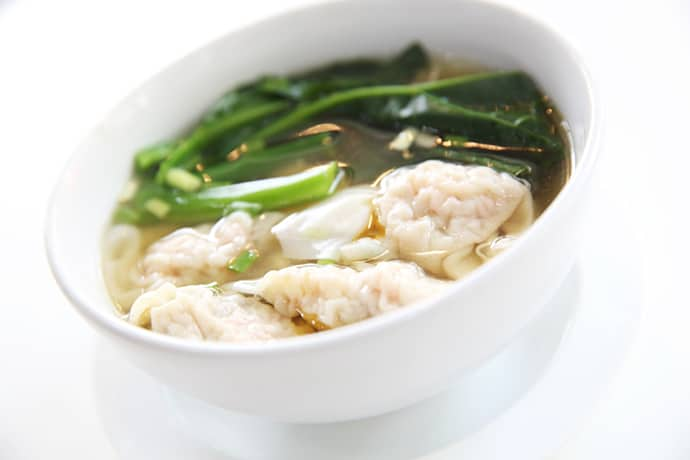Savory Chinese Pork Dumpling Soup is Like Dim Sum in a Bowl