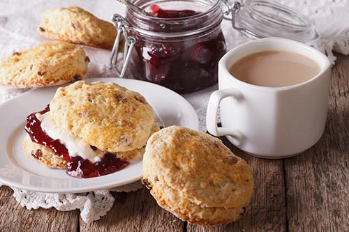 Currant Buttermilk Scones