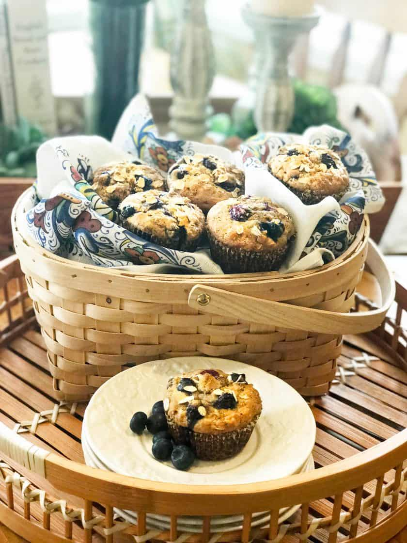 Healthy Morning Blueberry Muffins to Energize Your Day | 31Daily.com