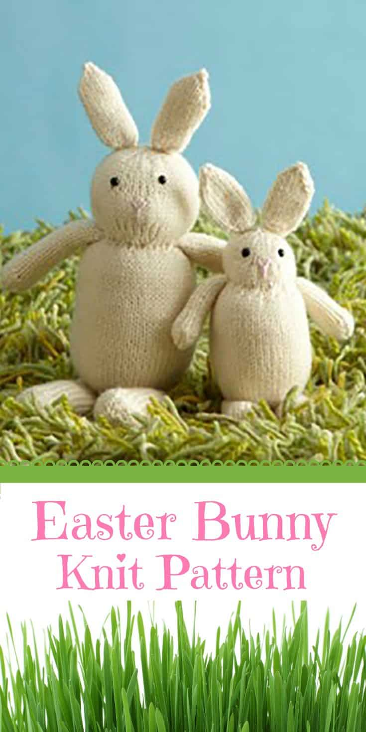 DIY Easter Bunny Knit Pattern | 31Daily.com