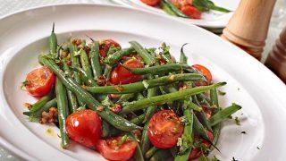 Garden Fresh Neapolitan Green Beans with Garlic and Red Pepper
