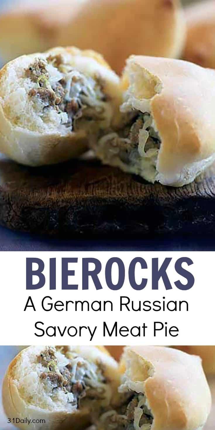 Bierocks: A German Russian Savory Meat Pie | 31Daily.com