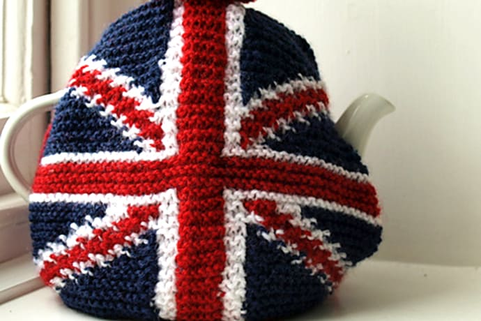 Union Jack Tea Cosy Knit Patterns