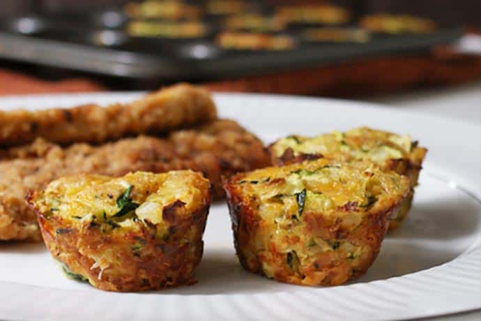 Healthy Snack Choice: Zucchini Tots Recipe