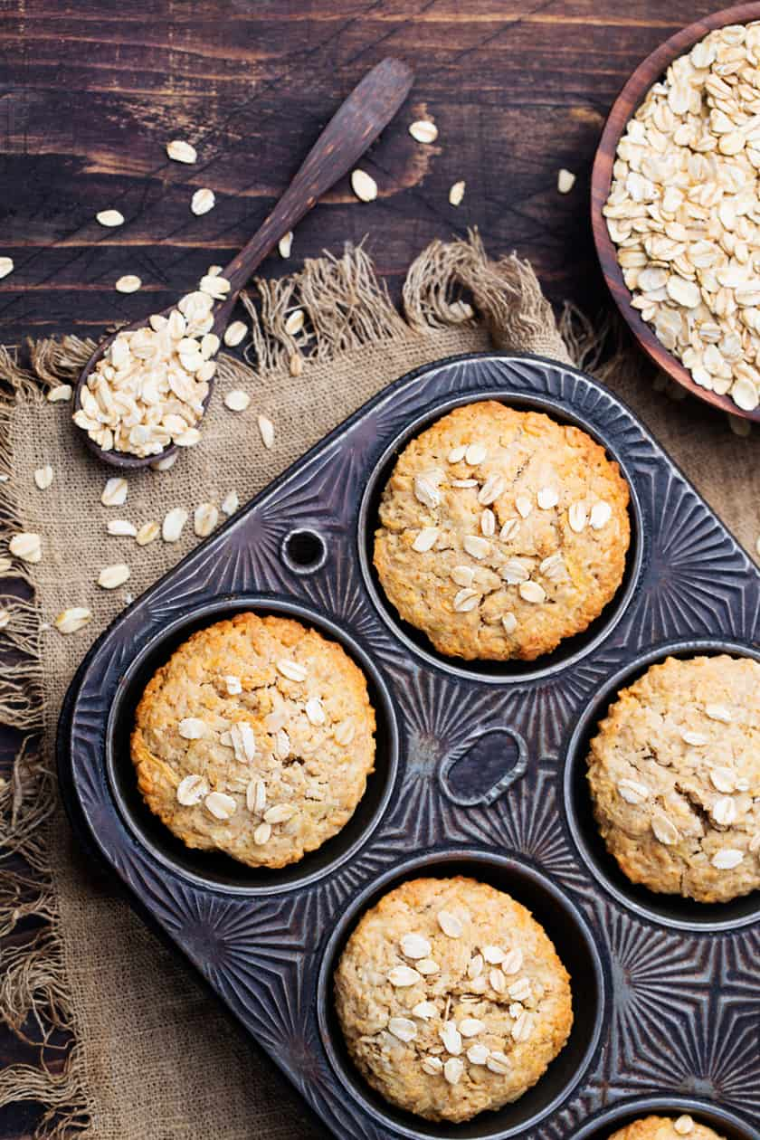 Healthy Pantry Staple: Banana Oat Muffins | 31Daily.com