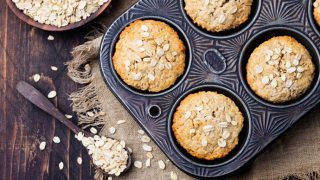 Healthy Pantry Staple: Banana Oat Muffins