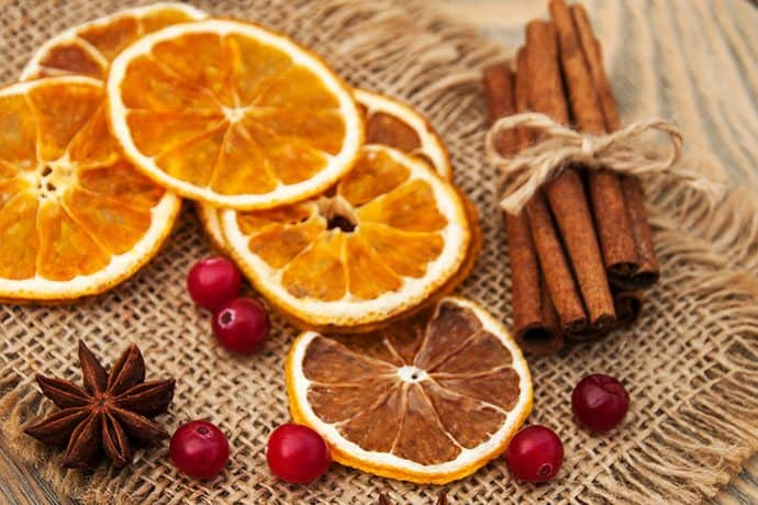 Christmas Dried Orange Slices