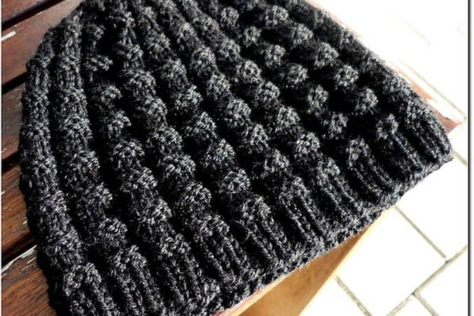 Men's Knit Hat Pattern