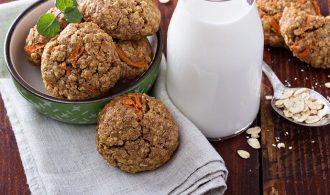 Carrot Cake Raisin Spice Cookies