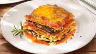 Heirloom Tomato and Eggplant Lasagna