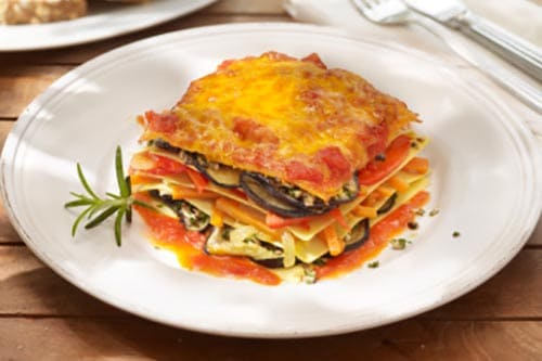 Heirloom Tomato and Eggplant Lasagna