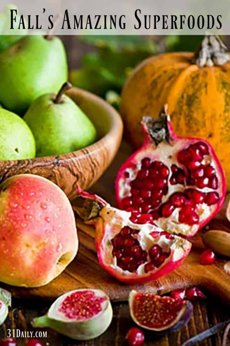 15 Amazing Fall Superfoods You Won't Want to Miss | 31Daily.com