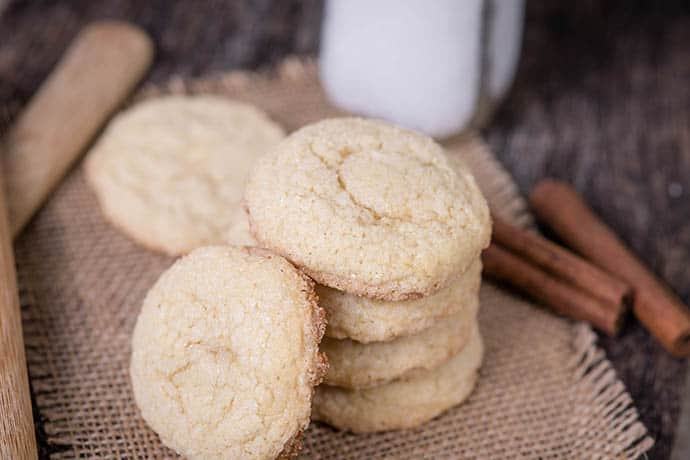 Masala Chai Spiced Icebox Cookies | 31Daily.com