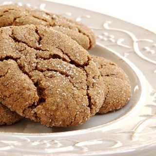 Giant and Soft Ginger-Spice Cookies