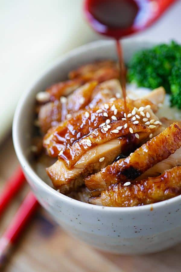 Chicken Teriyaki -- a favorite family recipe at 31Daily.com