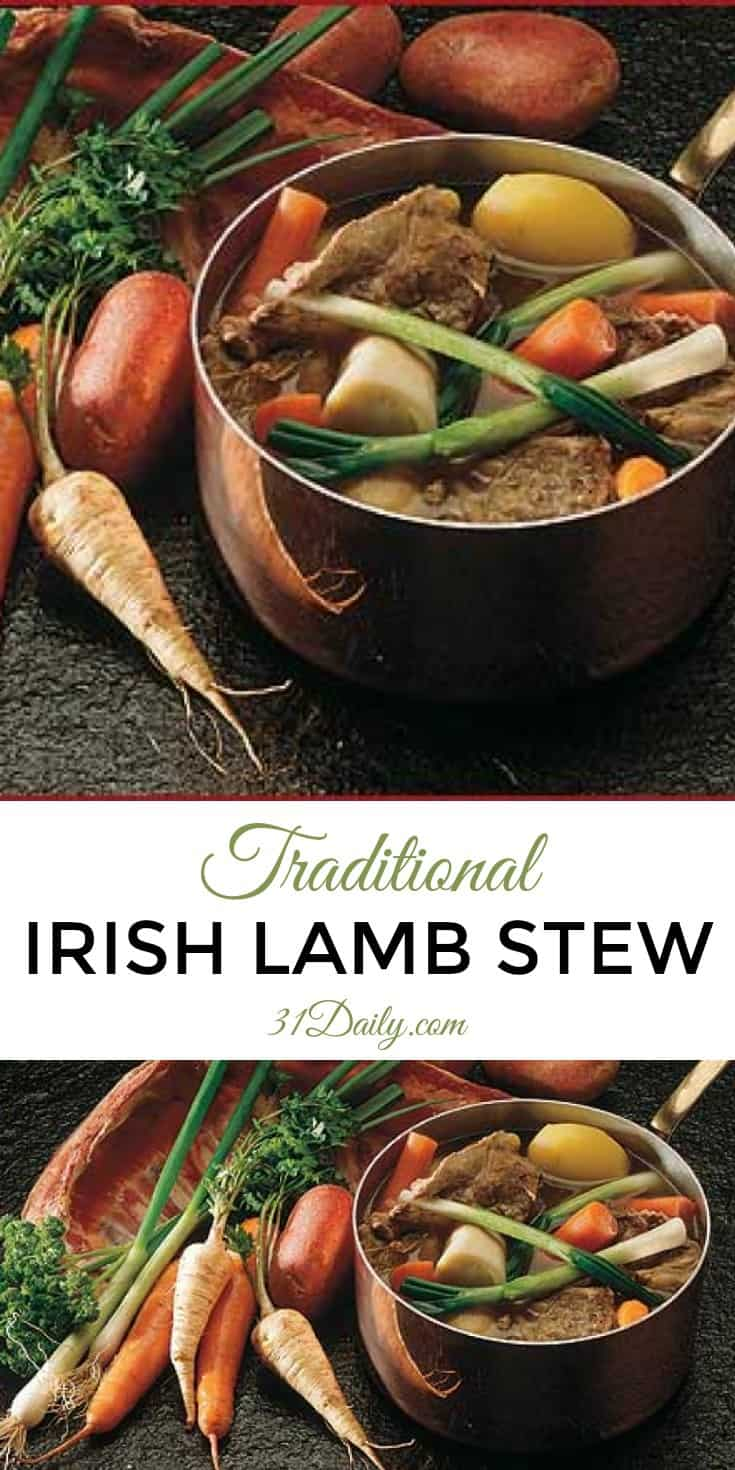 A Traditional Irish Lamb Stew | 31Daily.com