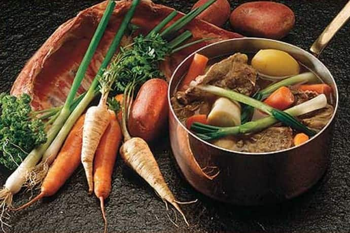 A Traditional Irish Lamb Stew