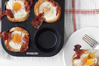 Sunshine Egg and Bacon Cups | 31Daily.com