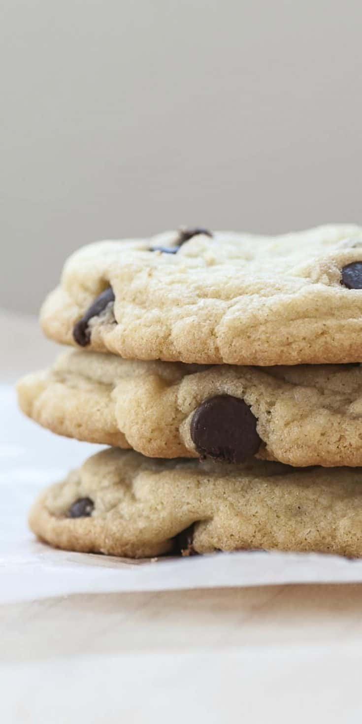 These Chocolate Chip Cookies are irresistibly chewy, buttery, and chocolaty. Truly a cookie for all time. America's favorite cookie, hands down. A tried and true recipe to memorize. | Most Requested Chocolate Chip Cookie Ever | 31Daily.com
