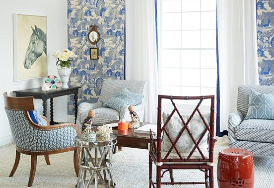 Inspired Room: Classic Southern Charm at 31Daily.com