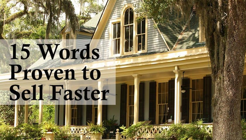 15 Keywords that Sells Real Estate