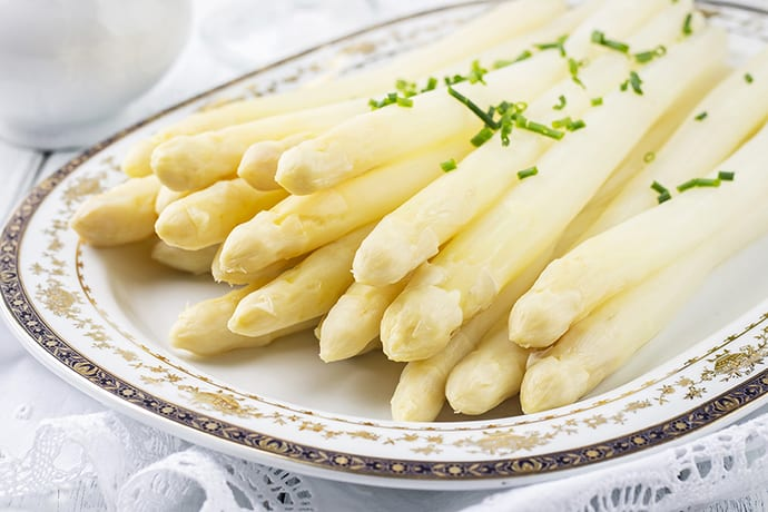 Spargelzeit: Advent of the German Asparagus Season