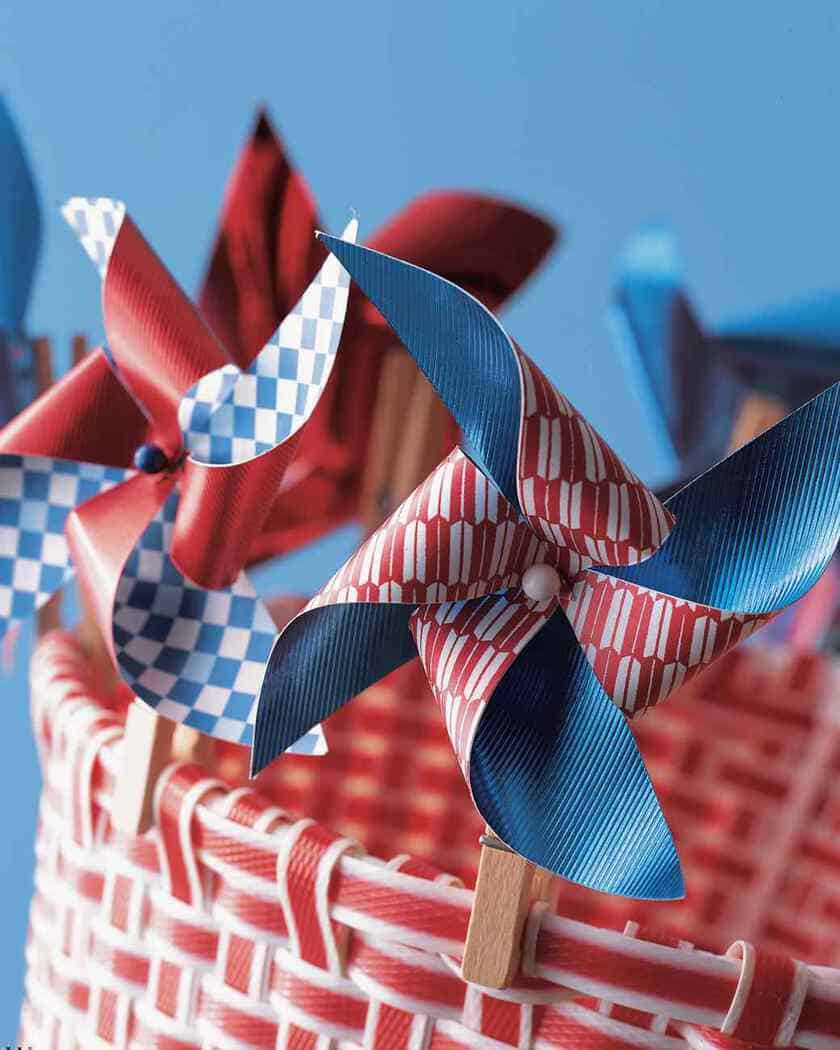 10 Easy DIY Patriotic Crafts at 31Daily.com