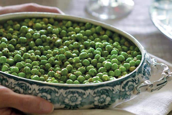 Seasonal Perfection: Creamed Peas or Peas in Béchamel