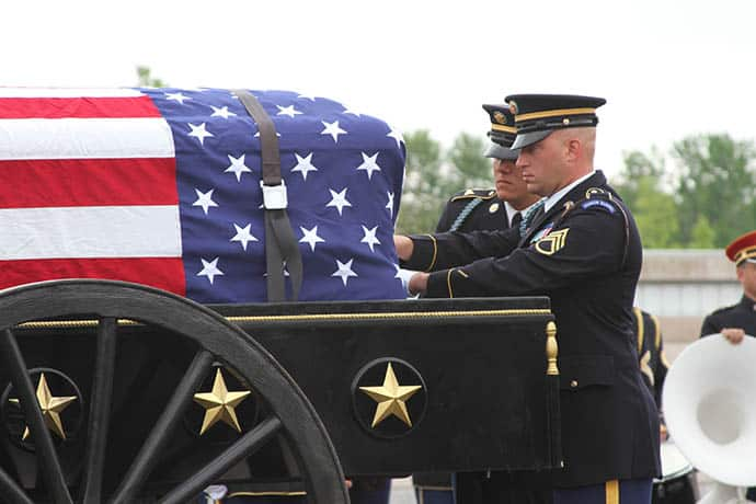 Honoring the more than 1,000,000 lives that has kept America free. 31Daily.com
