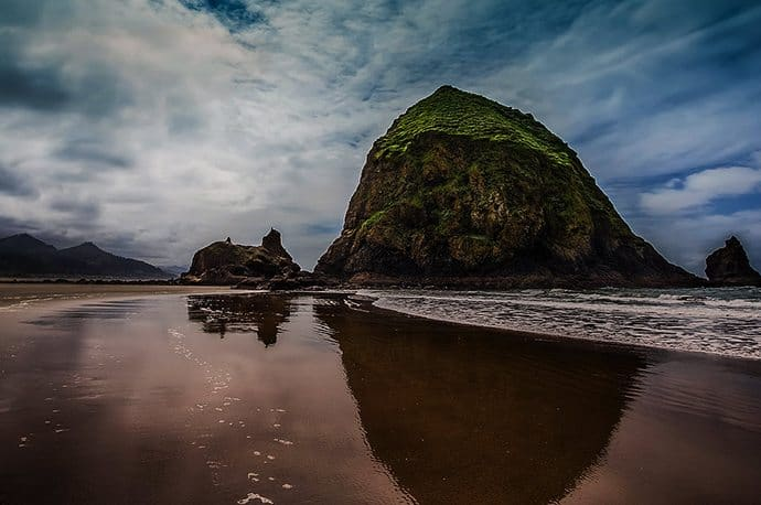 Haystack Rock: Cannon Beach, OR