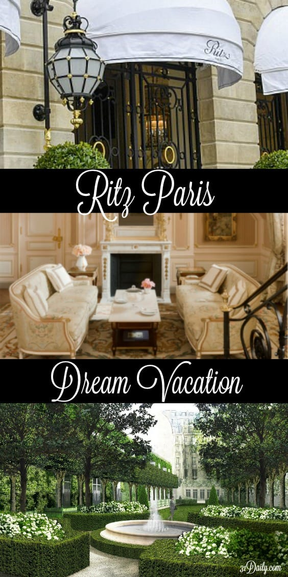 "After a 4-year renovation, Ritz Paris opens its door once again. Paris. The most romantic city, perhaps, in the world. And it most definitely qualifies as a ""Dream Vacation."" 31Daily.com"