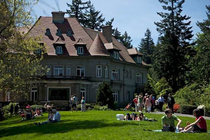 Pittock Mansion: Portland, OR
