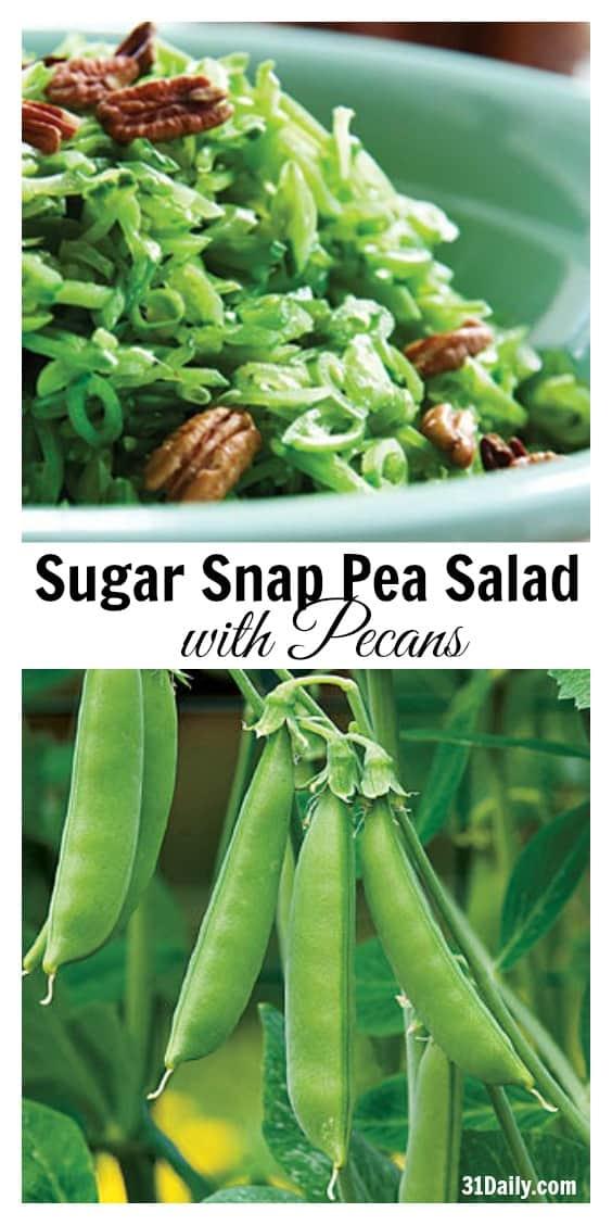 Sugar Snap Pea Salad with Pecans