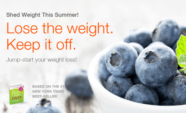 Shed pounds this summer and jumpstart your diet with the Mayo Clinic online diet and health program. Recipes included. 31Daily.com.