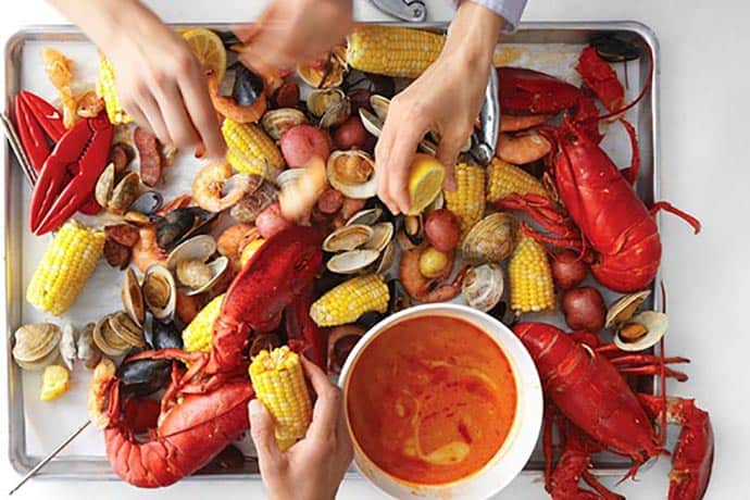 Stove Top Clambake