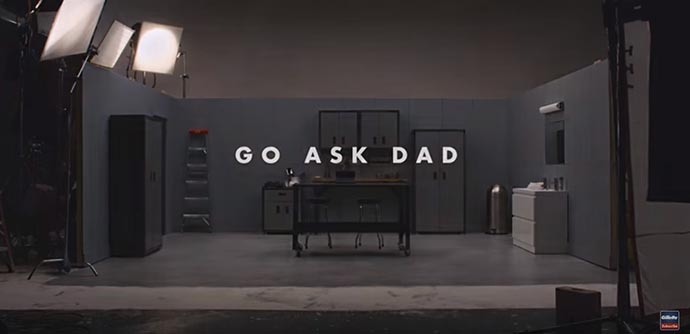 "Tying a tie, throwing a football, asking a girl for a date... mastering the morning shave are typical moments shared between fathers and sons. Teens are increasingly replacing dad with YouTube ""how-tos."" Watch what happens when they ""Ask Dad."" 31Daily.com"