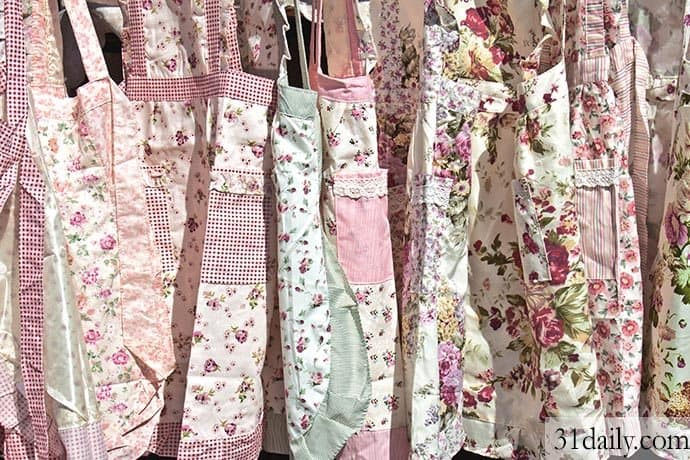 A Summer of Aprons