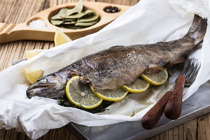 Rainbow Trout in Sage Butter Foil Packet Dinner | 31Daily.com