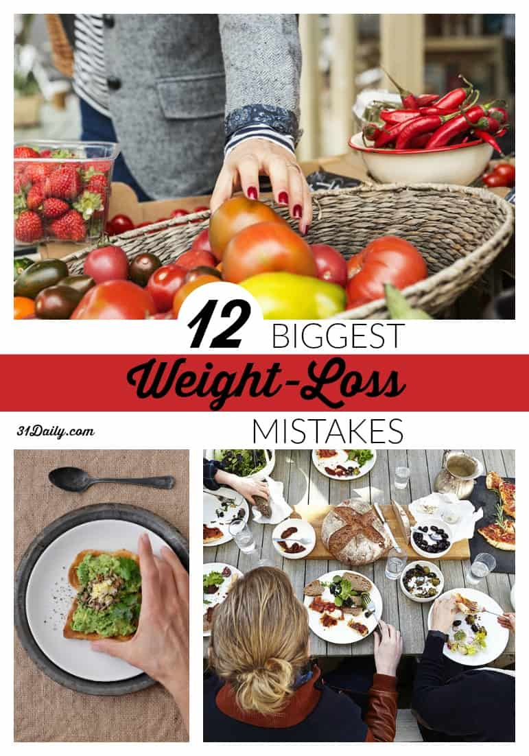 12 Biggest Weight-Loss Mistakes According to Registered Dietitians -- 31Daily.com