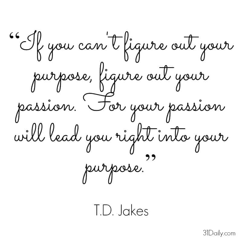 Motivational Monday: T.D. Jakes | 31Daily.com