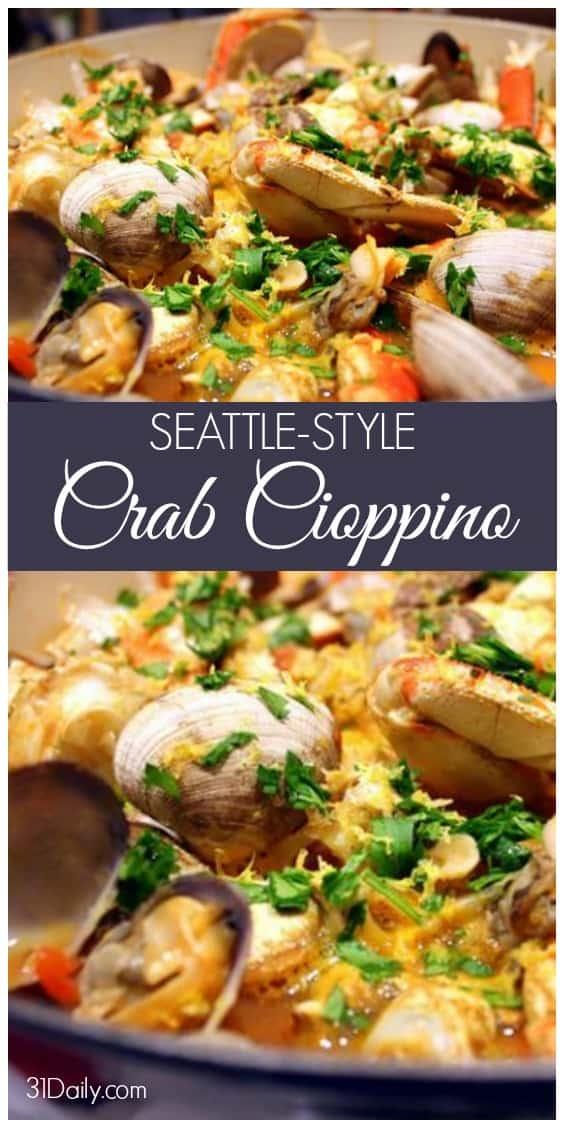 Seattle Style Cioppino Recipe | 31Daily.com