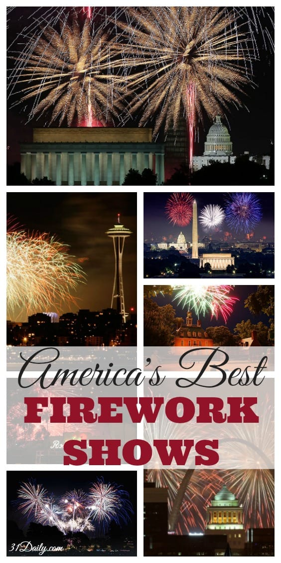 America's Best Fireworks Shows - From Seattle to Boston, DC to Philly, from Los Angeles to New York and everywhere inbetween -- coast to coast the most fun and spectacular fireworks displays in the country! 31Daily.com