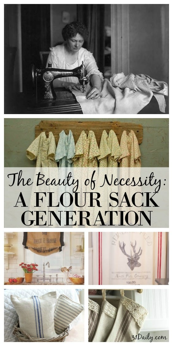 The Beauty of Necessity - A Flour Sack Generation | 31Daily.com