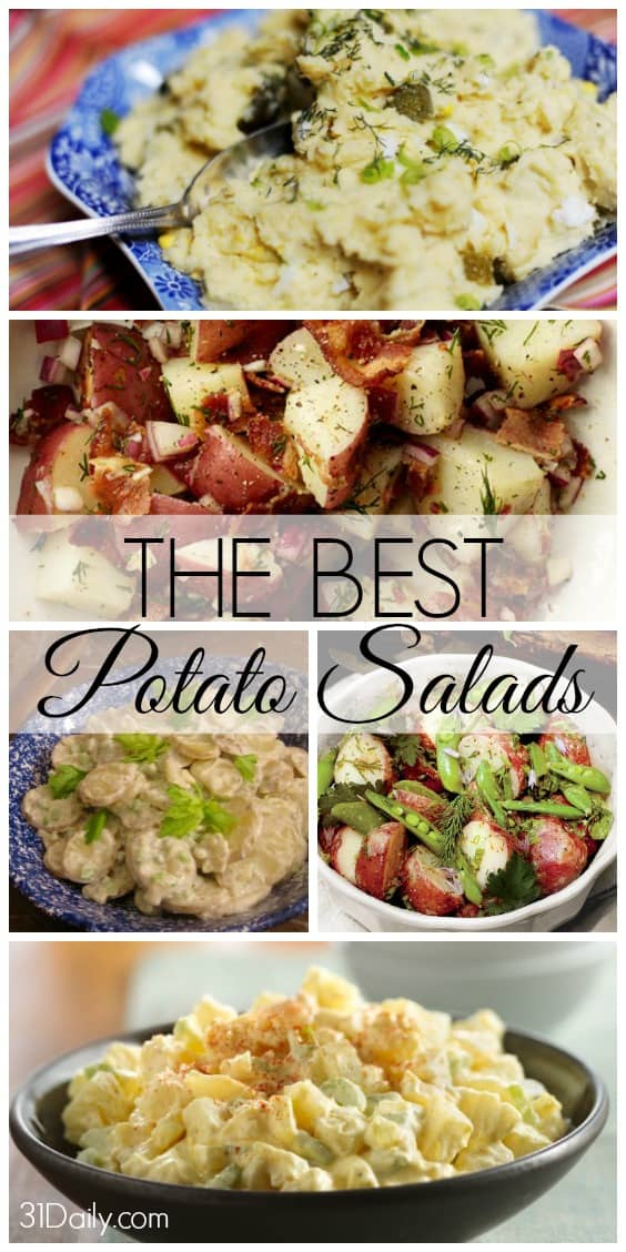 Best Potato Salad Recipes from Notable Chefs and Publications - 31Daily.com
