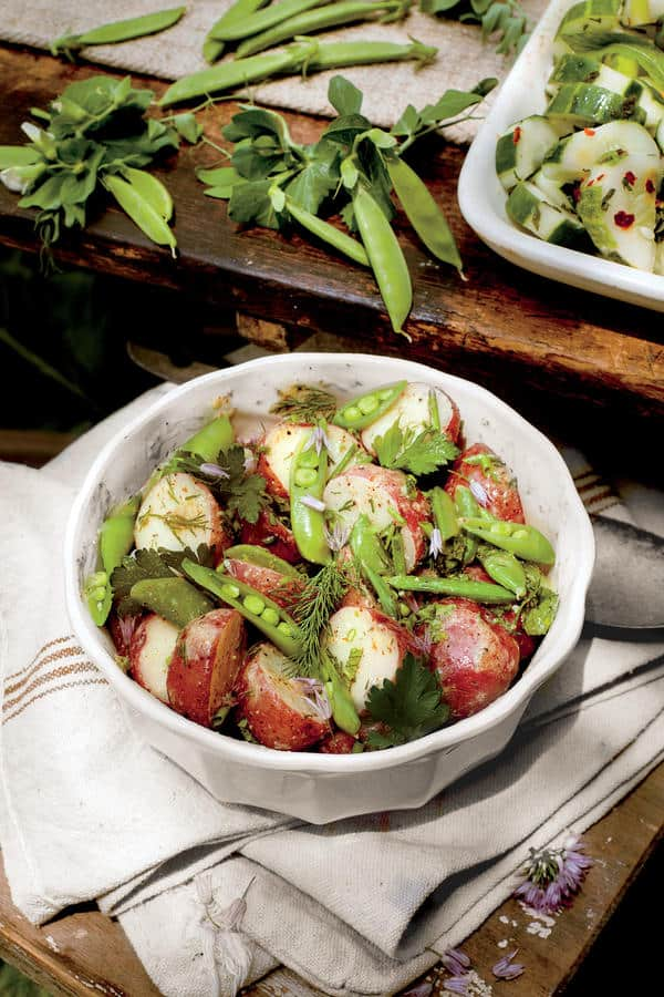 Summers are synonymous with baseball, hamburgers, apple pie... and potato salad. And every cook, it seems, has their own recipe. Here are 7 scrumptious recipes from notable chefs and personalities. | 31Daily.com