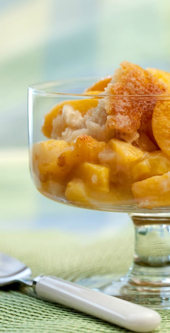 A perfect, seasonal dish when the peaches are freshly harvested and ripe. Summer Peach Cobbler | 31Daily.com