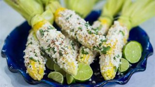 Grilled Elotes: Mexican-Style Corn with Queso Fresco