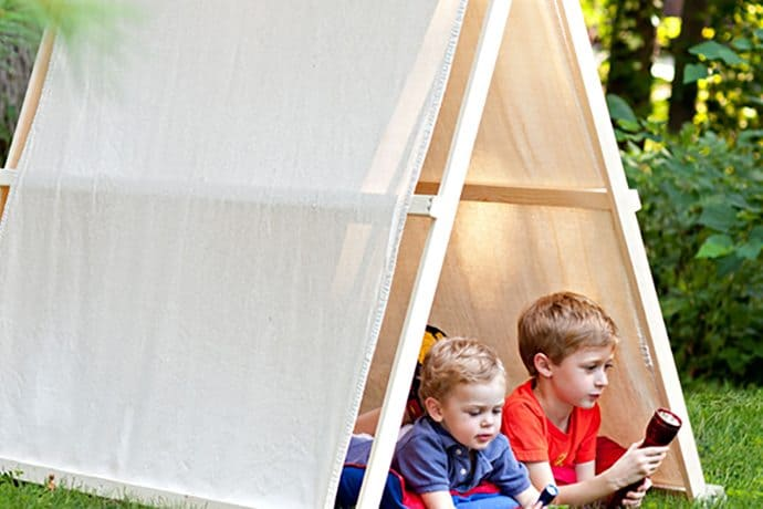 DIY Kids Tents and Teepees