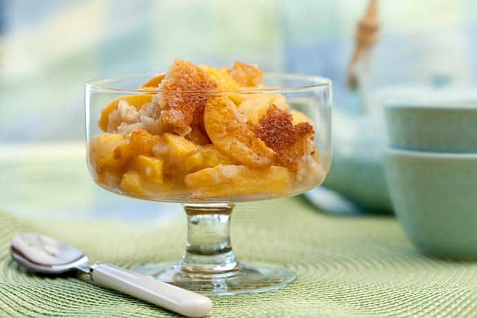 Summer Peach Cobbler | 31Daily.com