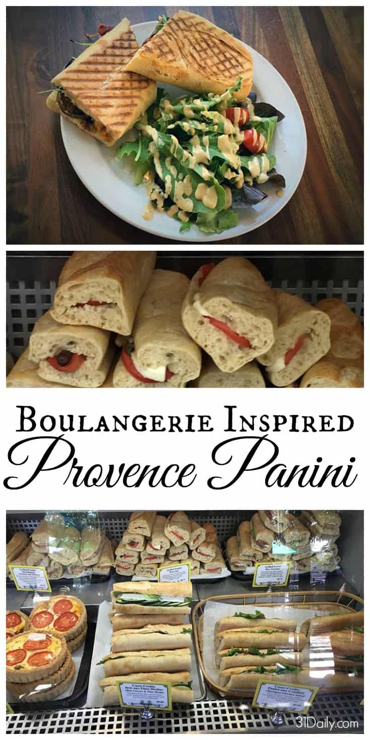 Quick and Easy Boulangerie Inspired Provence Panini | 31Daily.com